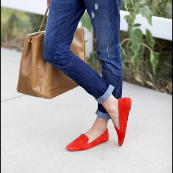 e5fdd3658b1 NEW J. Crew darby suede loafers slip on 7 italy